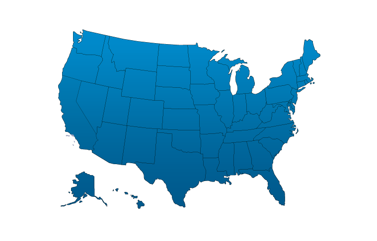 Nationwide Coverage by Region